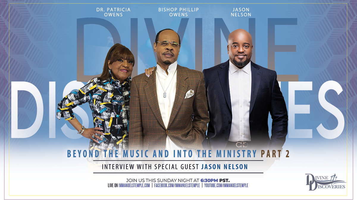 Beyond The Music and Into The Ministry Part 2 - Interview with Special Guest Jason Nelson